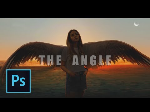 Photoshop Speedart Manipulation - The Angel