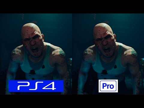 VR Worlds London Heist | PS4 VS PS4 PRO | GRAPHICS COMPARISON | Comparativa