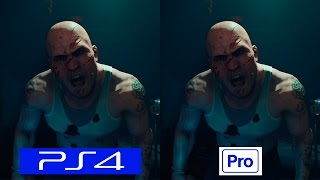 VR Worlds London Heist   PS4 VS PS4 PRO   GRAPHICS COMPARISON   Comparativa