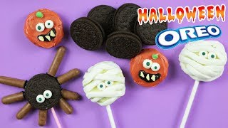 DIY HALLOWEEN OREO POPS ! How To Make Yummy Halloween Dessert Recipes by HooplaKidz Recipes