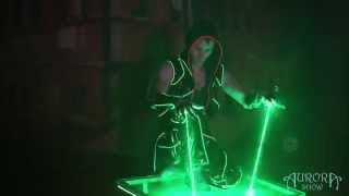 Laserman show. Лазерное шоу Новосибирск