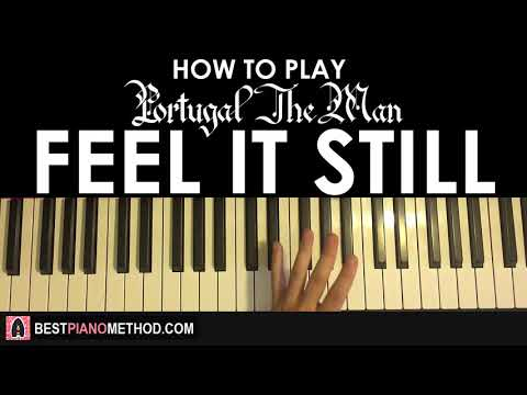 HOW TO PLAY - Portugal. The Man - Feel It Still (Piano Tutorial Lesson)