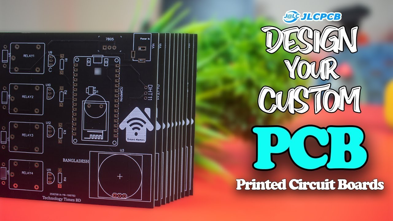 JlCPCB | How To Design a Custom PCB | Make a Printed Circuit Boards (Gerber  File) And Order Online