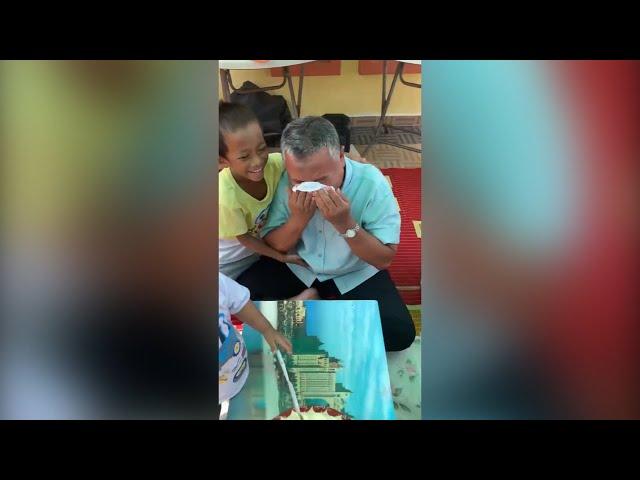 Ayah ini menangis bila sangkakan anak anak lupa hari jadinya