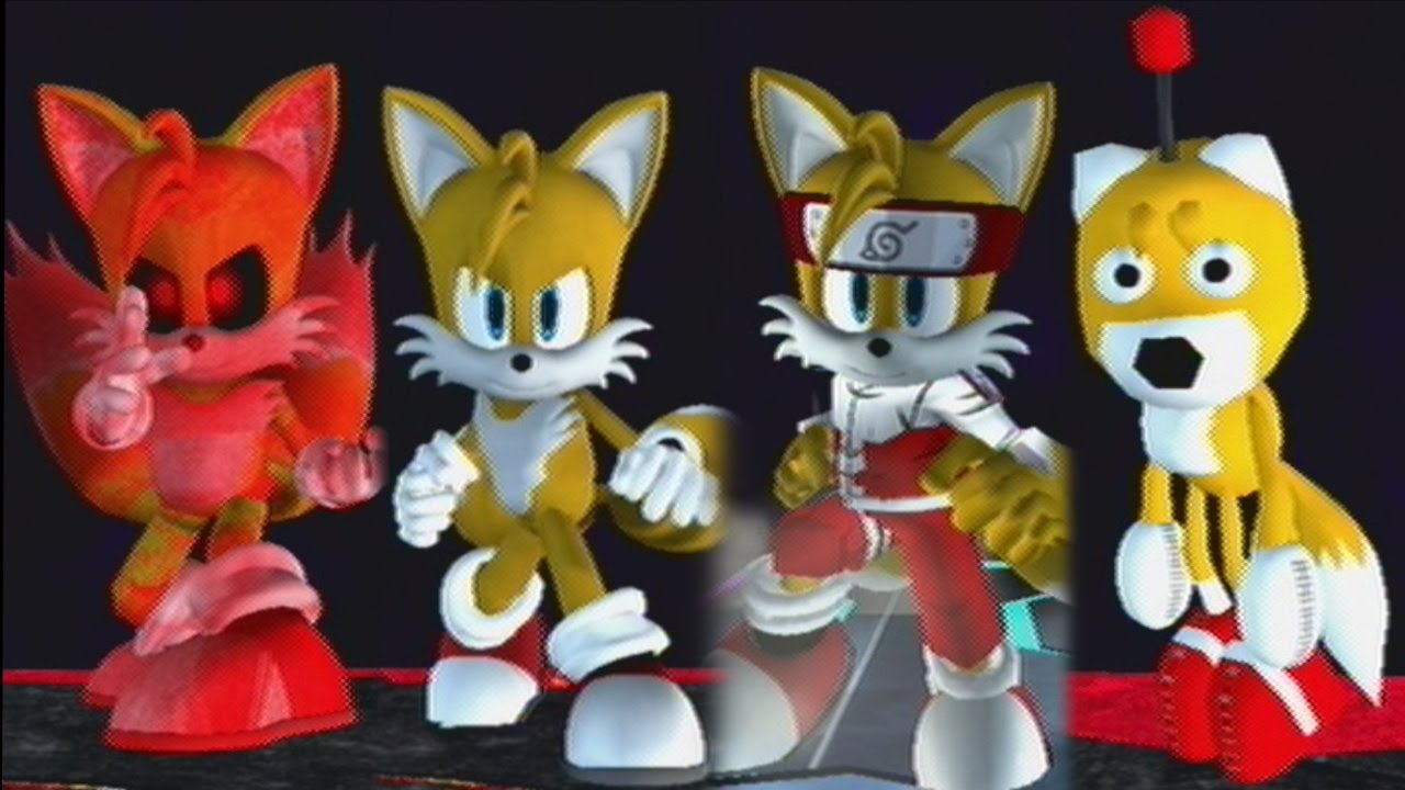 Royale tails vs tails doll vs narutails vs tails exe youtube