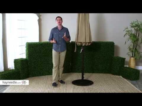 coral-coast-75-lb.-european-patio-umbrella-stand---product-review-video