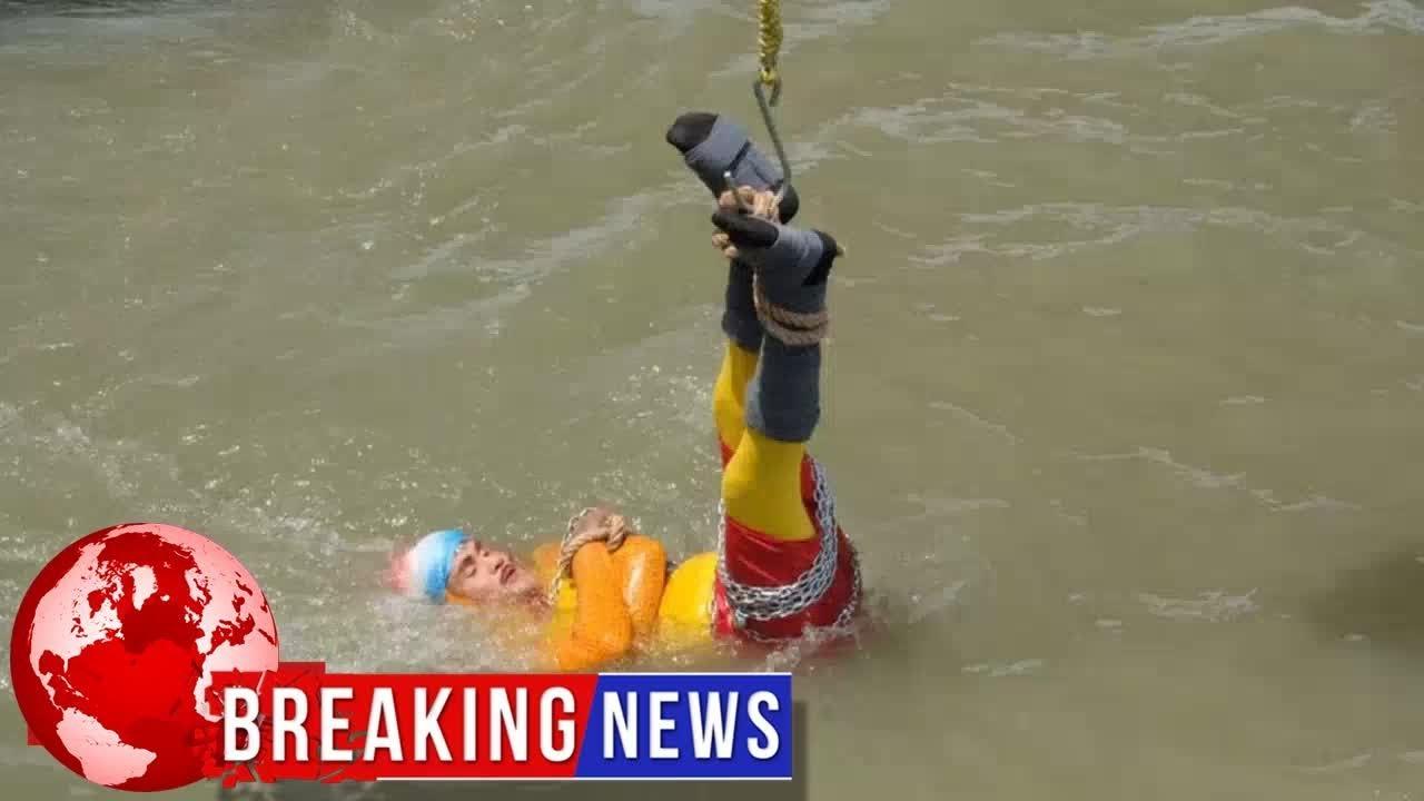 Trik Sulap Salah, Stuntman India Menghilang di Sungai Gangga