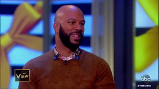 Common on New Album and Daughter Joining Him In Music Video | The View