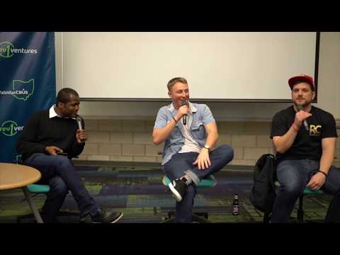 RapChat Founders Interviewed by John Delia at Blk Hack Columbus