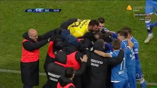 U Craiova - Gaz Metan 1-0 Mitrita deschide scorul din lovitura libera!
