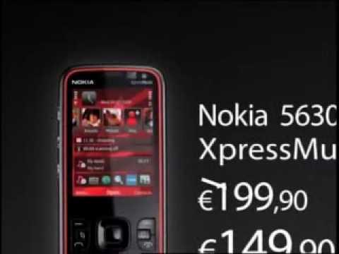 Anúncio Nokia 5630 XpressMusic (Panisgas - Bruno Nogueira)