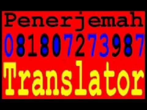 Penerjemah[081`807`273`987]Interpreter Bahasa Mandarin