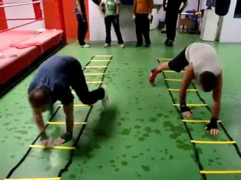 Fitness Bootcamp Agility Ladder Drills Youtube