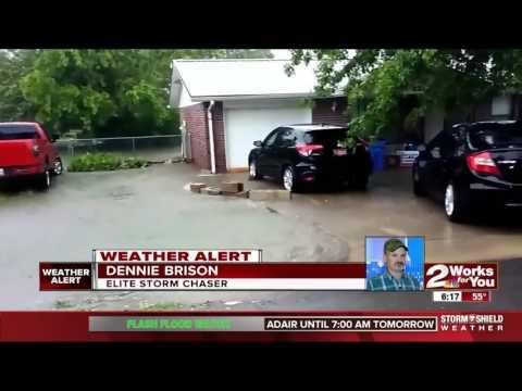 Flooding strikes eastern Oklahoma
