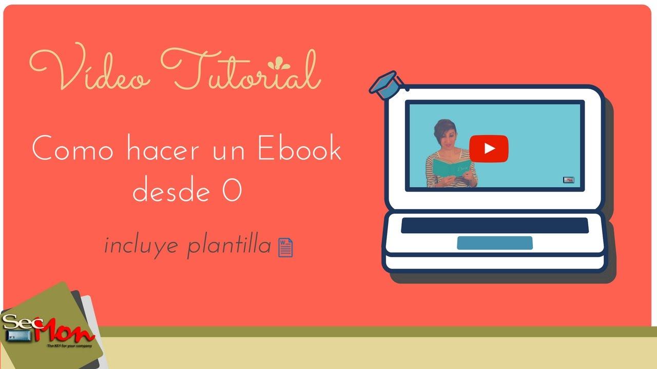 Como hacer un e-book desde 0 - YouTube