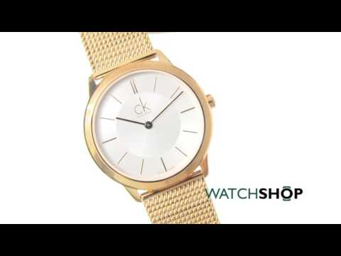 Calvin Klein Ladies' Minimal Watch (K3M22626)