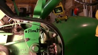 John Deere 4020 RSCV hydraulic Rear selective Control Valve adjustments - zeketheantiquefreak