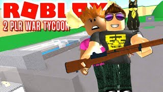 WE ARE THE BOSS! -ROBLOX 2 Player War Tycoon Danish with the Manly Moose