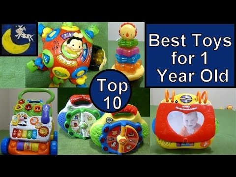 TOP 10 Best Toys for 1 year old! Vtech, Fisher Price, LeapFrog and MORE!