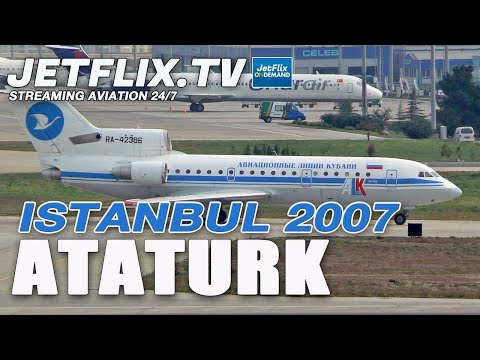 Turkish Airlines Istanbul HD action 2007 with A380 first visit - DVD PART 1 Preview