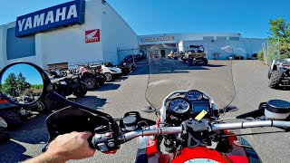 2005 R1200GS Recall!! • Didn't Go So Smoothly..!   TheSmoaks Vlog_2076
