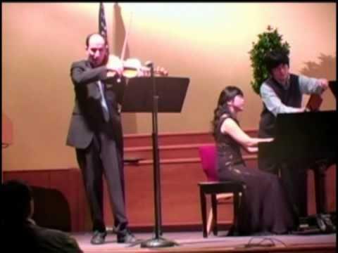 David Yonan / César Franck, Violin Sonata in A Major (3 & 4)