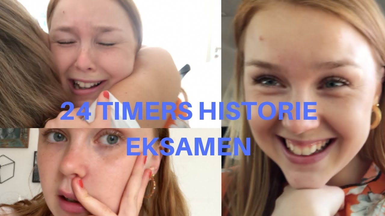 24 timers INTENS historie eksamen