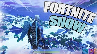 How to Get the SNOW Map in Fortnite!