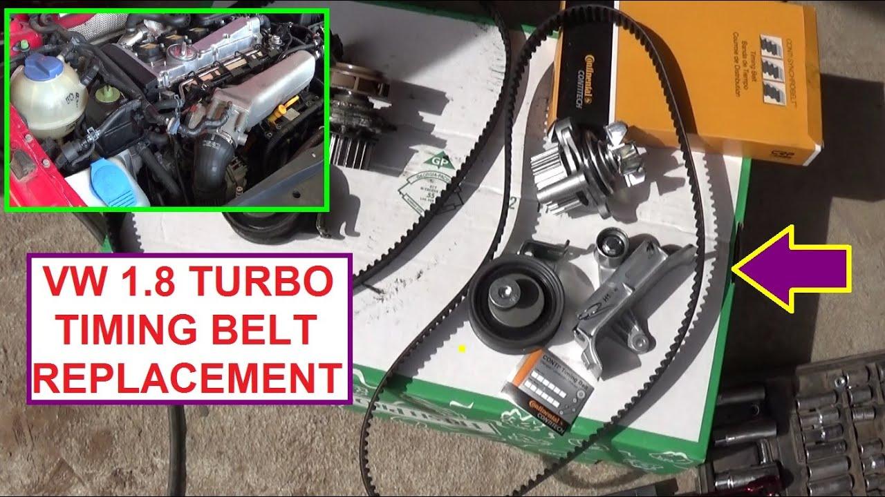 Vw Jetta Golf Mk4 18t Turbo Timing Belt Replacement Seat Leon 1 8 Engine Diagram Bora