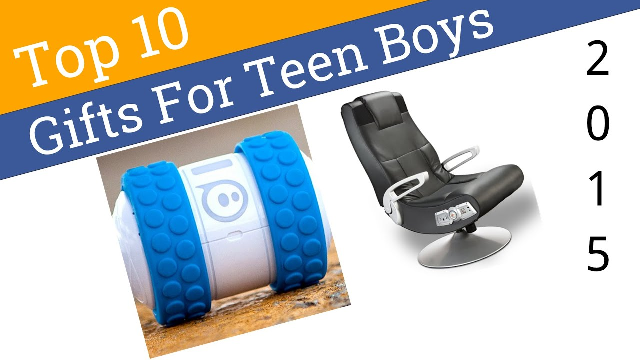 10 Best Gifts For Teen Boys 2015