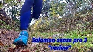 Salomón Sense Pro 3 Review