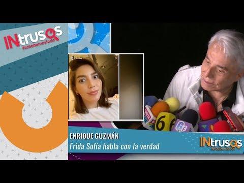 Enrique Guzmán asegura su nieta Frida Sofía habla con la verdad | INtrusos