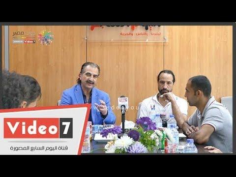 مدرب الكاراتيه يتحدث في ندوة تكريم اليوم السابع لأبطال المتوسط عن الاهتمام الإعلامي