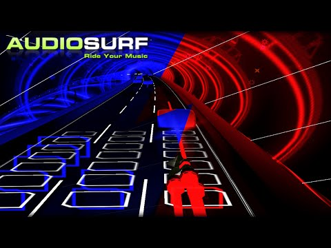 Squid Melody [Blue & Red Version] by The Living Tombstone - Audiosurf Ep. 8 (Mono Ironmode)