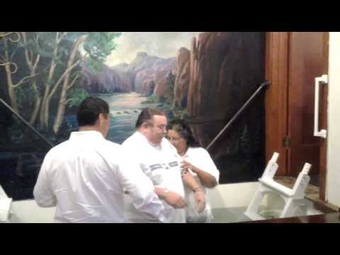 Baptisms At First Christian Church of Raton, New Mexico 08/24/2013