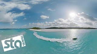 EXPLORE AUSTRALIA IN 360° | Whitehaven Beach | STA Travel