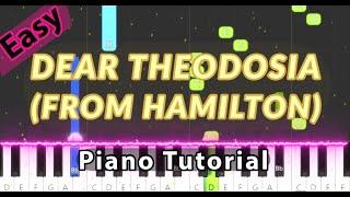 Dear Theodosia (from Hamilton) Lin-Manuel Miranda | Easy Piano Tutorial