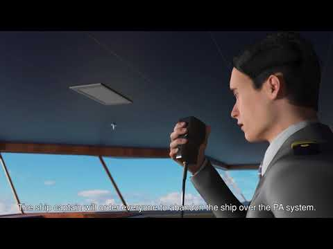 Baleària fast ferry onboard safety video