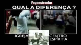 Qual a diferença, evangélicos X macumbeiros