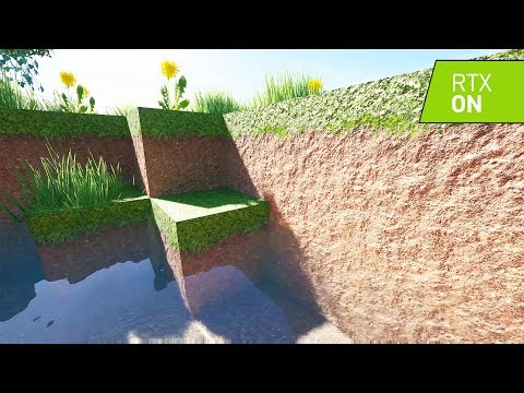 Minecraft Survival With Ray Tracing ON - Minecraft With RTX
