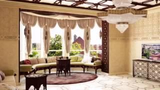 Гостиная и столовая в восточном стиле