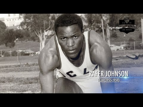 2018 Pac-12 Hall of Honor Inductee: UCLA track & field's Rafer Johnson