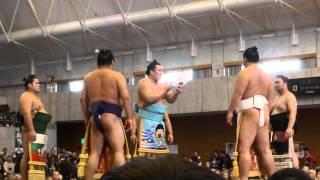 角界のイケメン力士が歌う相撲甚句「双葉山」