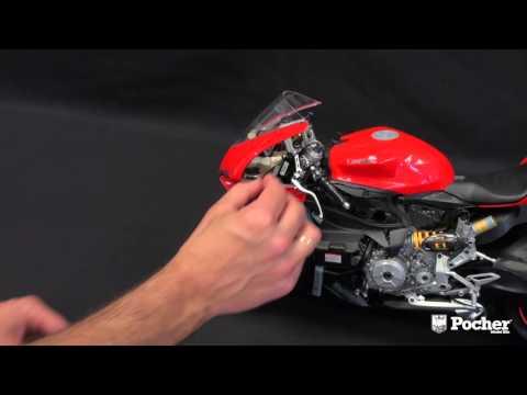 1:4 model bike kits   pocher