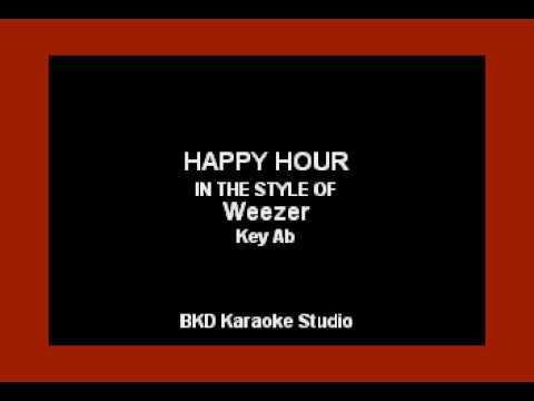 Weezer - Happy Hour (Karaoke Version)