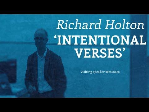 Richard Holton: Intentional Verses