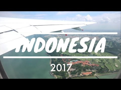 TRIP TO INDONESIA 2017 - BANDUNG & BALI | Transfer at Changi Airport Singapore | part 1