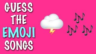 EMOJI CHALLENGE ★ Guess the Pop Songs #3
