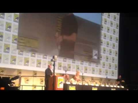 Arrow Cast Introduced At Comic-Con Hall H #SDCC
