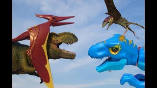 ДИНОЗАВРЫ ДЛЯ ДЕТЕЙ. ПТЕРОЗАВРЫ И ХИЩНИКИ! Сборник мультиков про динозавров